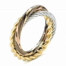 custom braided mokume white wedding band 103986 seattle bellevue joseph jewelry