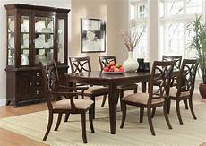 homelegance keegan dining set cherry d2546 96 at