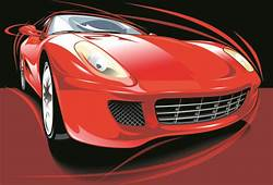 Vector Sport Car Silhouette Free Download 8989