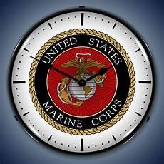 americana and wall clocks lighted pow marines