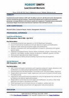 resume for ojt aviation