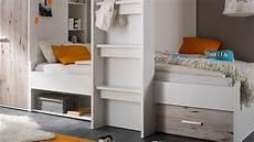 Hochbett Max 2 - hochbett maxi kinderbett etagenbett wei 223 sandeiche 90x200