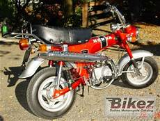 1977 honda st 70 dax specifications and pictures