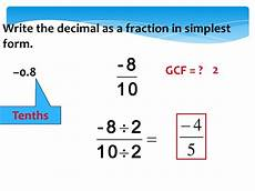 write 0 125 as a fraction in simplest form number systems
