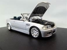 bmw m3 cabriolet for sale bmw m3 cabriolet e46 silver 1 43 80420024430 minichs