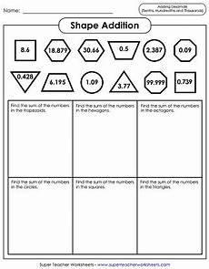 worksheets in addition and subtraction of decimals 7615 decimal addition and subtraction