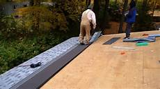 dach in kanada neu decken dach reparieren