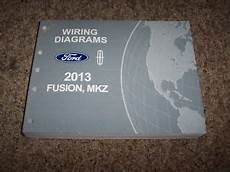 electric and cars manual 2013 ford fusion security system 2013 ford fusion electrical wiring diagram manual s se titanium 1 6l 2 0l 2 5l ebay