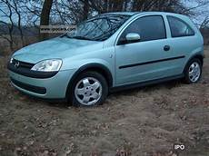 2002 Opel Corsa Car Photo And Specs