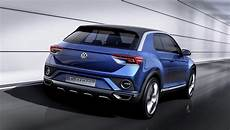 Suv Vergleich 2017 - volkswagen t roc concept probably heading for production