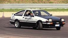 Toyota Ae86 Sprinter Trueno Drifting Sound On
