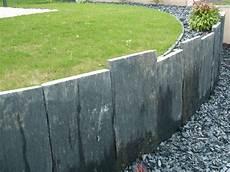 retenue terre ardoise marches jardin jardins bordure