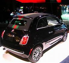 fiat 500 gucci edition at 2012 new york auto show