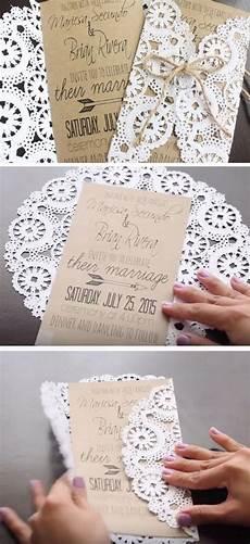 diy 19 easy to make wedding invitation ideas 2493359
