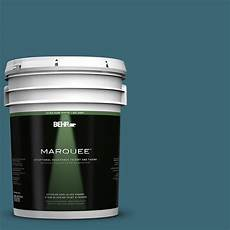 home depot behr paint color behr marquee 5 gal pmd 45 teal mosaic gloss enamel exterior paint 545305 the home depot