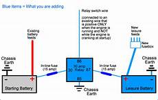 auto electrical advice needed re split charging relay yotatech