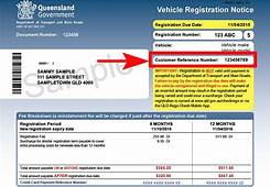 Where To Find Your Customer Reference Number  Transport