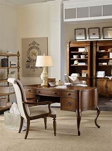 home office wood furniture archivist dark wood home office set from hooker coleman