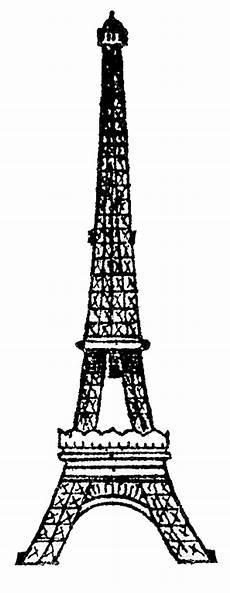 Eiffel Tower Clipart 8 vintage eiffel tower clip the graphics