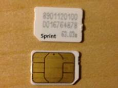 Sprint Nano Sim Card For Iphone 6 Plus 6 5s 5c 5 Samsung