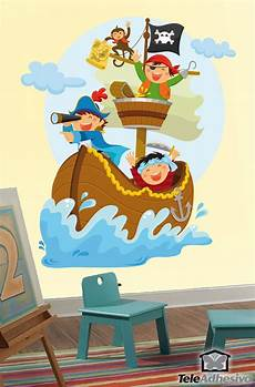 Wall Sticker Sailing On Boat Muraldecal