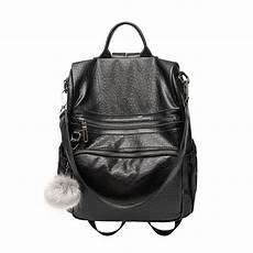 brand backpack genuine leather purse bag
