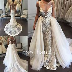 Wedding Gowns With Detachable Skirts