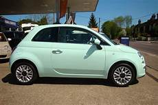 used smooth mint green fiat 500 for sale essex