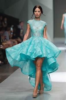 robes de mode robe de mariee courte bleue