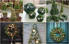 dekoideen weihnachten selber machen m 228 rchenhafte weihnachtsdeko aus der natur