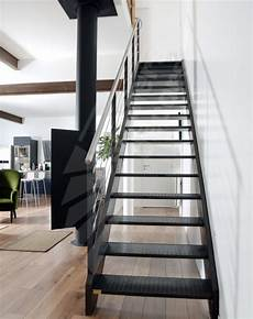 escalier d intérieur design dt38 esca droit 174 escalier droit m 233 tallique d int 233 rieur