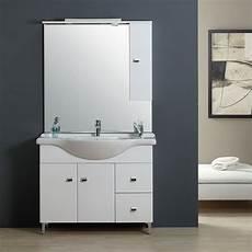 meuble salle de bain 105 cm classique avec lavabo et