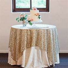 Gold Sparkle Table Cloth Sparkly by New 48 Quot 72 Gold Sequin Tablecloth Overlays Fancy Wedding