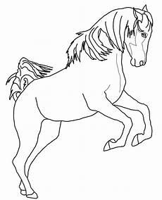 Malvorlage Steigendes Pferd Dibujos De Caballos Para Colorear E Imprimir Gratis