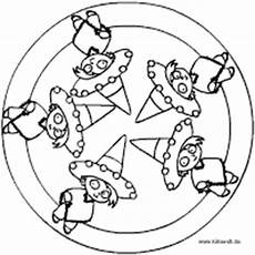 Ausmalbilder Fasching Mandala Fasching Mandala Im Kidsweb De