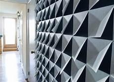 Make It Modern Diy 3d Felt Wall Panels Projects