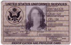 veteran id card template dependent card id template army brat