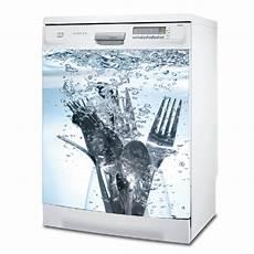 stickers lave vaisselle lavage couvert w0030