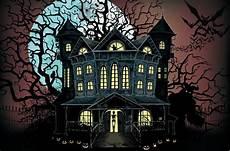 Häuser In Amerika - horror haus spukhaus wanddeko