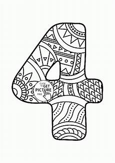 color by number coloring pages 18048 pattern number 4 coloring pages for counting numbers printables free wuppsy