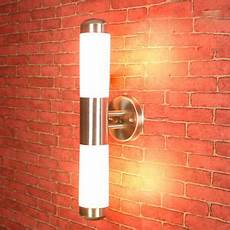 contemporary led wall light l stainless steel outdoor porch sconce new ebay