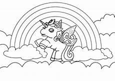 ausmalbild wolke regenbogen ausmalbilder pony kostenlos malvorlagen zum ausdrucken