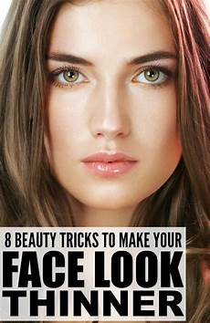 what hairstyle makes face look slimmer 8 beauty tricks to make your face look thinner