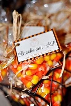 fall bridal shower ideas wedding shower ideas favors candy corn for fall wedding