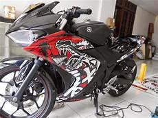 Stiker Motor Fiz R Keren by Koleksi Modifikasi Motor Yamaha R15 Terbaru Modifikasi