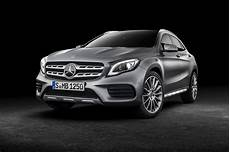 Gla Mercedes 2017 Mercedes Gla 2017 Facelift Merc Gets The Mascara Out By