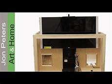 how to build a tv lift cabinet make bead molding by jon