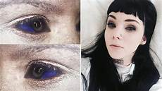 the risks of eye tattoos according to body modification