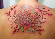 60 graceful flowers tattoos on upper back