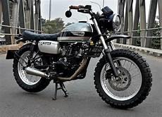 Kawasaki W175 Modif Japstyle by Inspirasi Modifikasi Ragam Ubahan Custom Kawasaki W175